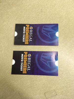Pair of Regal movie tickets for Sale in Portland, OR