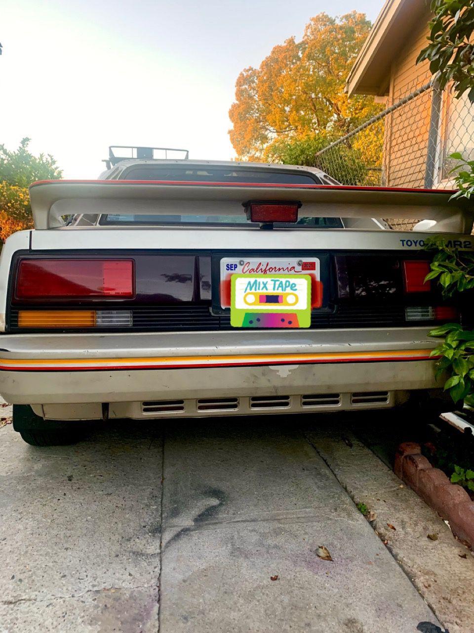 1986 Toyota MR2