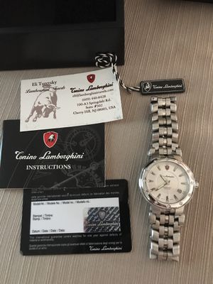 Tonino Lamborghini limited edition diamond watch for Sale in Los Angeles, CA