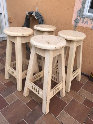 Stool Set, 4, Furniture, Outdoor, Indoor for Sale in Miami, FL