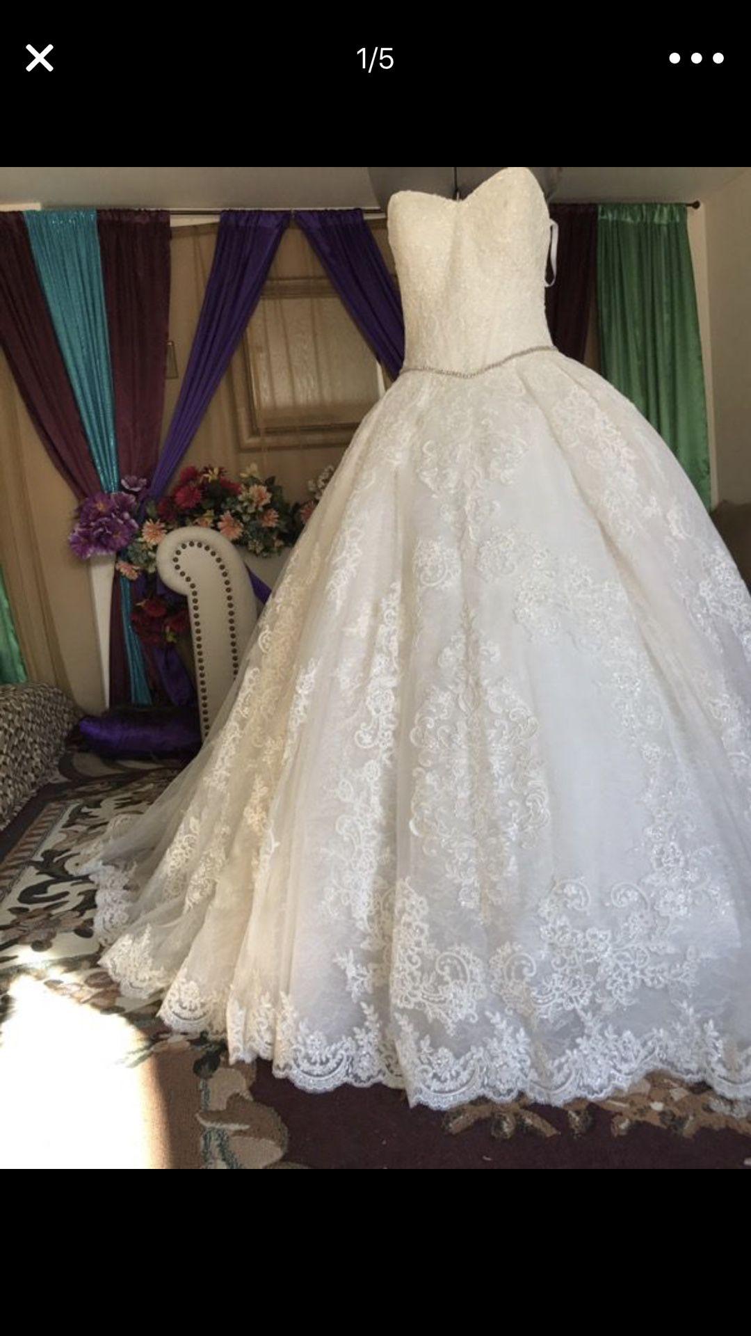 Wedding dress size 2