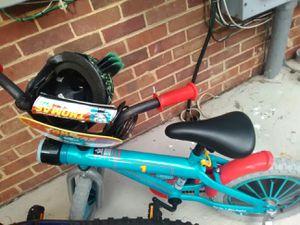 "14"" thomas and friends kids bike /w helmet for Sale in Fort Belvoir, VA"