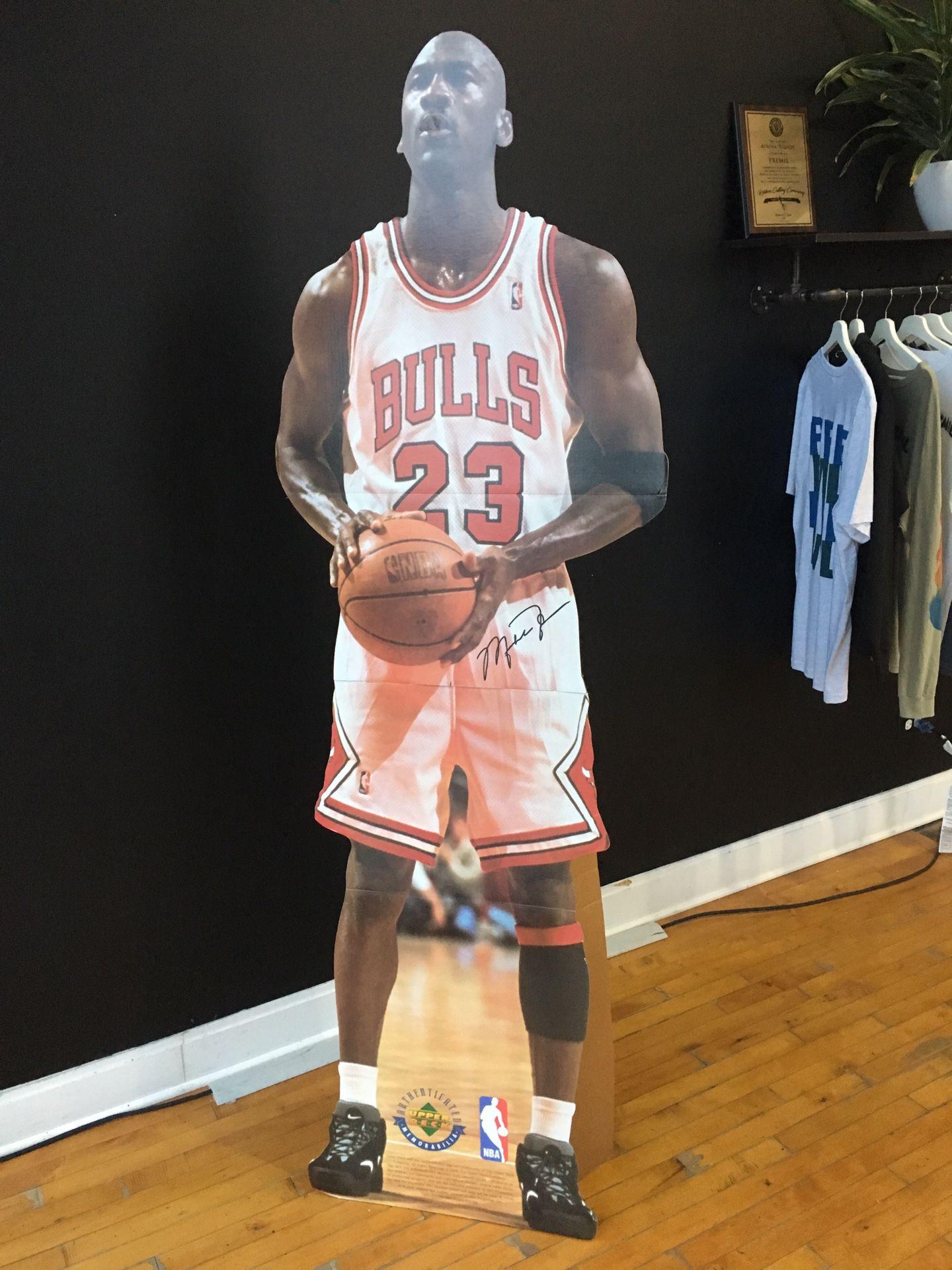 1996 Upper Deck MJ cutout