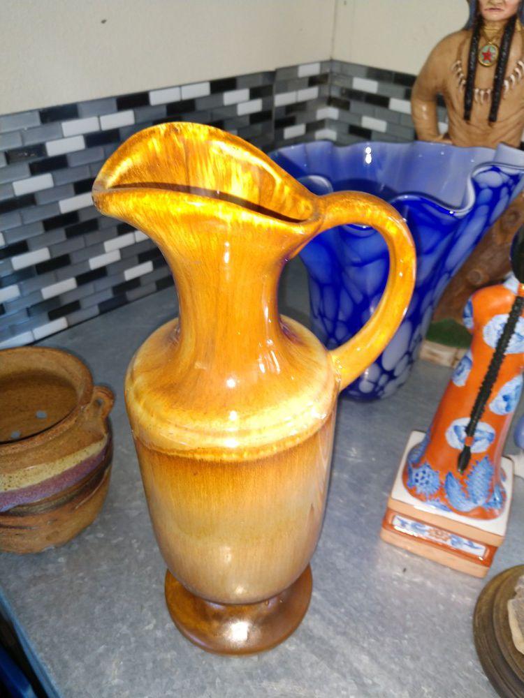 Beautiful rare mid century royal haeger pitcher