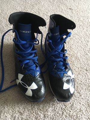 Under Armour Football cleats. for Sale in Annandale, VA