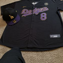 Dodgers Baseball Jersey In LA Lakers Colors A Tribute To Kobe for ...