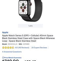 Apple Watch Series 5 (GPS+ Cellular)  Thumbnail