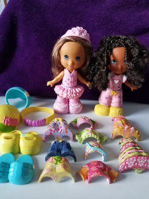 Photo Snap N Style Fisher-Price dolls