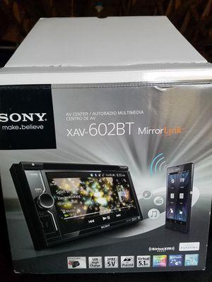 Sony XAV-602BT for Sale in Apex, NC