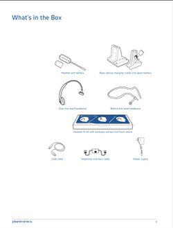 Plantronics Headset - Savi W745 Thumbnail