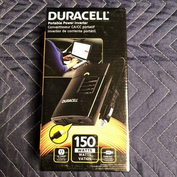 Duracell Portable Power Inverter 150 Watt New For Sale In