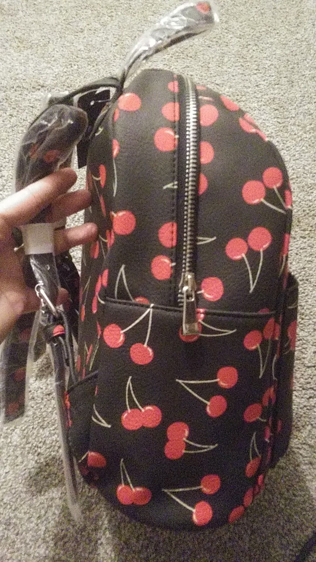 JCP new cherry backpack