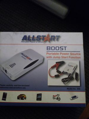 Portable power source with jump start function for Sale in Washington, DC