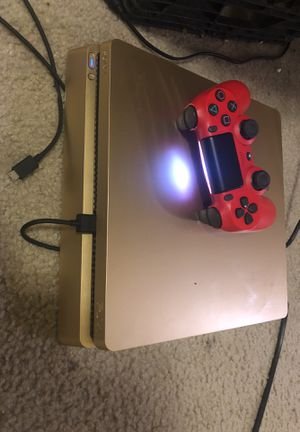 Gold ps4 slim for Sale in Fort Washington, MD