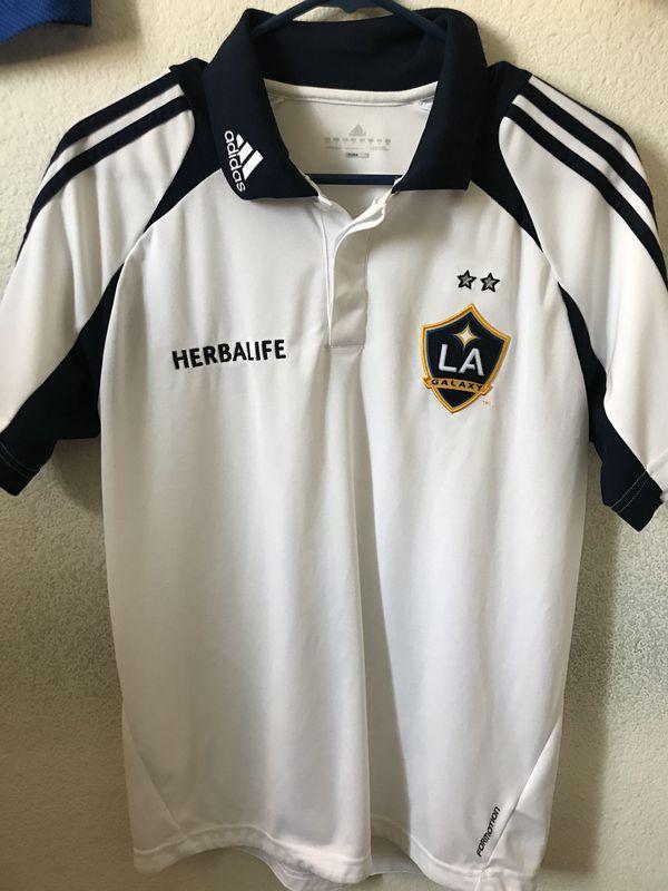 b7cde8a728e LA Galaxy Soccer Jersey. Adidas Mens Small. for Sale in Murrieta