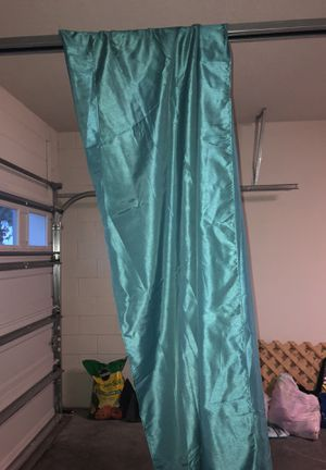 Green curtains for Sale in Orlando, FL