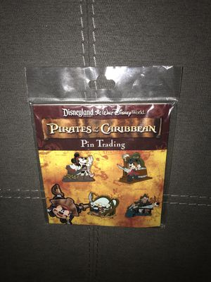 78e5e9d2dc New Disneyland 4 pins set Pirates of the Caribbean Mickey Minnie Donald  Goofy Disney Gold for Sale in Gilbert