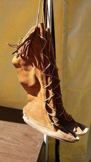 a3d5d04ea64 Long suede leather boots. for Sale in Graham