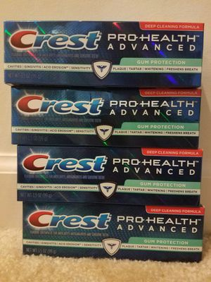 Crest toothpaste 3.5 oz - $2 each. Not negotiable. for Sale in Rockville, MD