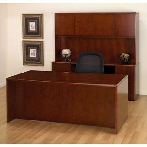 Executive Office Desk Suite in Dark Cherry Wood for Sale in Ashburn, VA
