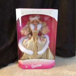 1995 Special Edition Winter Fantasy Barbie Thumbnail
