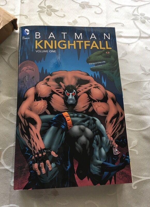Batman Knightfall Volume 1 Paperbook