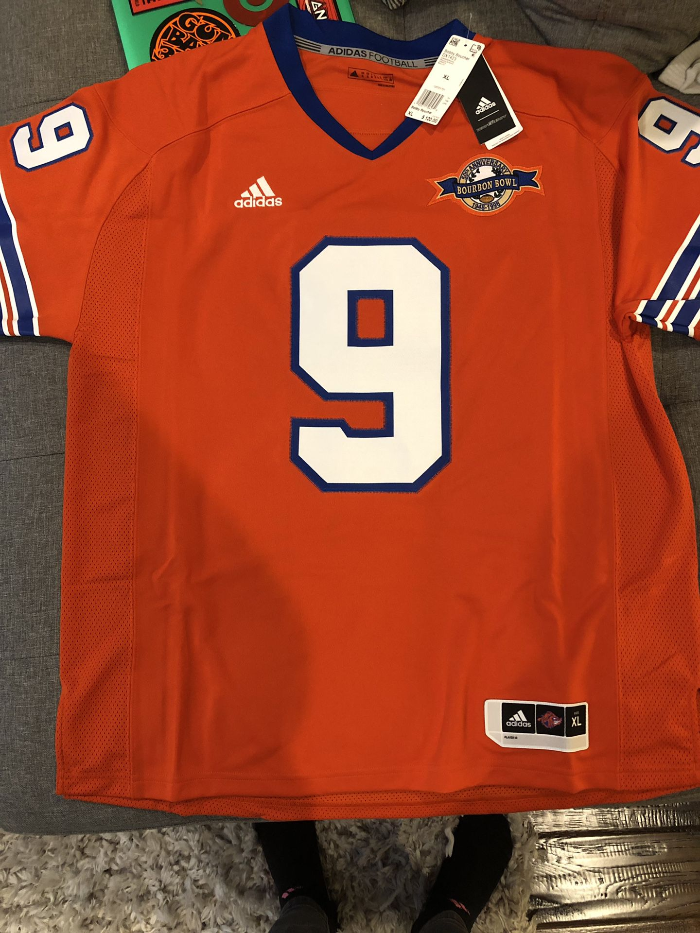 Adidas Waterboy Collection - Bobby Boucher Jersey XL for Sale in ...