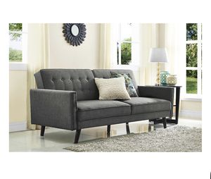 New Sofa Futon Gray For In Raleigh Nc