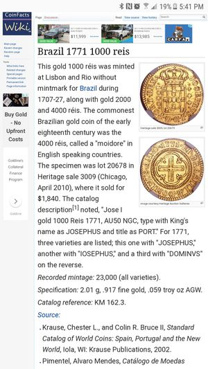 Moneda antigua de oro for Sale in Bethesda, MD