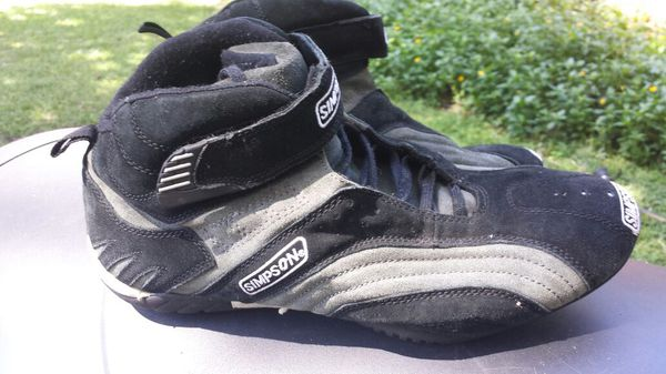 Simpson Racing Shoes >> Simpson Racing Shoes Fire Proof For Sale In Summerfield Fl Offerup