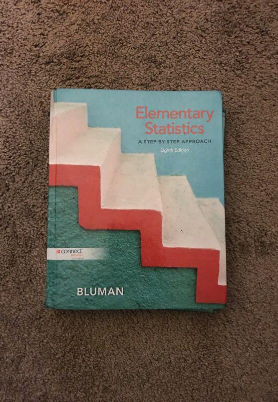 Elementary Statistics Textbook for Sale in Cotati, CA - OfferUp