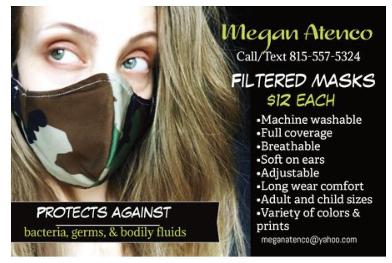 Filtered masks