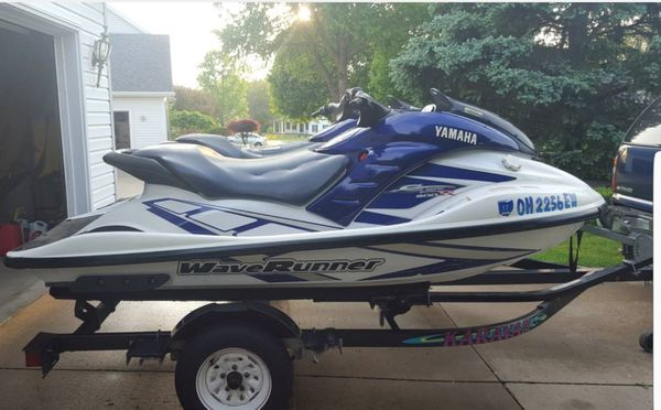 2001 wave runner 800r 2 stroke x2 with double trailer for Sale in  Cleveland, OH - OfferUp