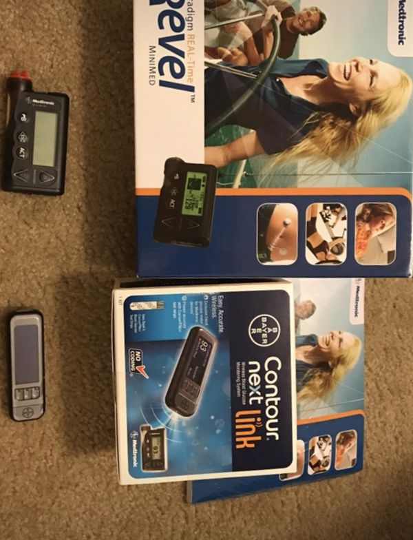 Insulin pump and Bluetooth reader for Sale in Virginia Beach, VA - OfferUp