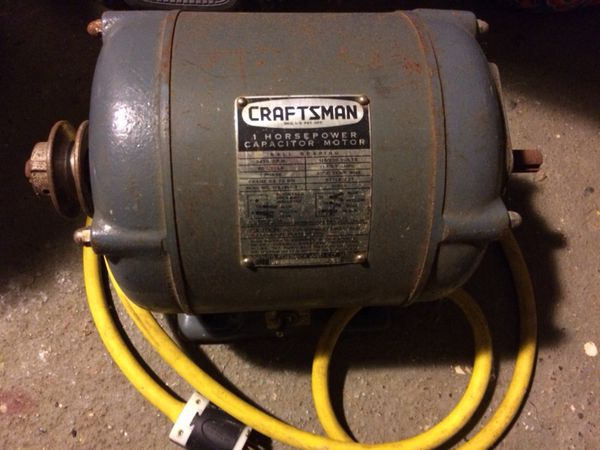 1 HP Craftsman Electric Motor for Sale in Rock Island, IL - OfferUp