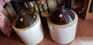 Whiskey jugs assorted for Sale in Farmville, VA