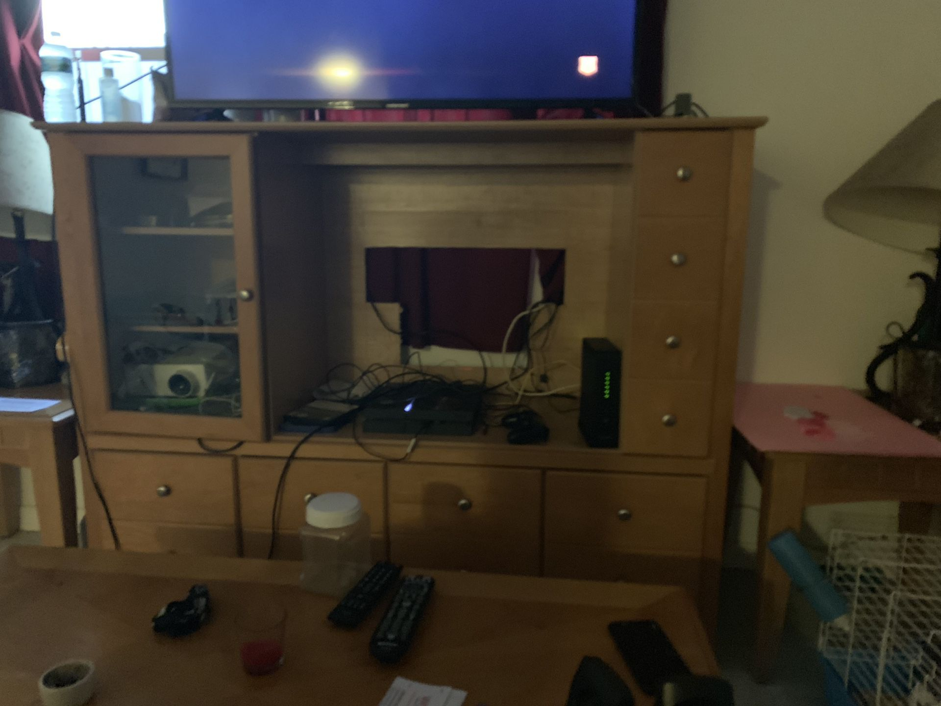 Tv stand $50 OR BEST OFFER need gone !!!