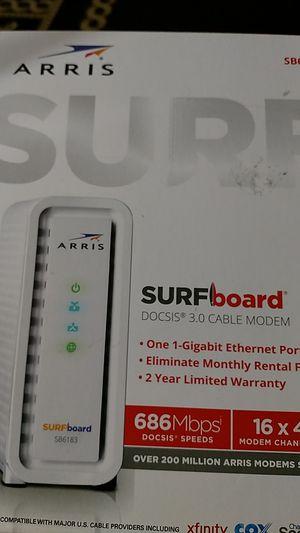 Motorola Arris SB6183 Cable modem for Sale in Fresno, CA