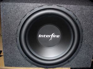 "2- 10"" interfire subs (factory lifetime warranty) for Sale in Orlando, FL"