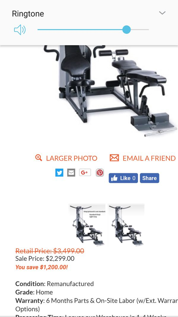 PRECOR S3 25 home gym and strength training with leg press for Sale in  Edison, NJ - OfferUp