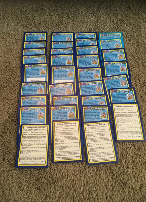 34 Unused Webkinz code cards for Sale in Rio Rancho, NM - OfferUp