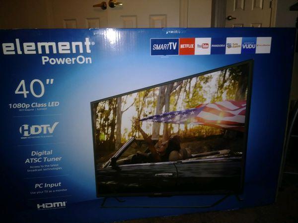 Element 40 Inch Tv Smart Tv