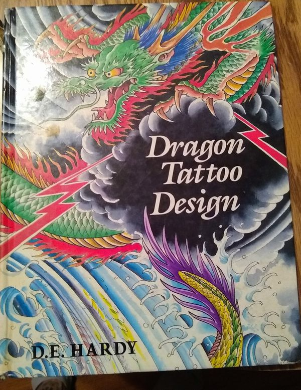 Ed Hardy dragon tattoo designs book for Sale in Buena Park, CA - OfferUp