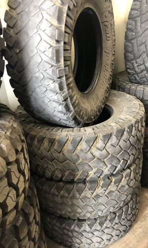 Photo (4) LT {link removed} Nitto Trail Grappler M/T tires CHEAP