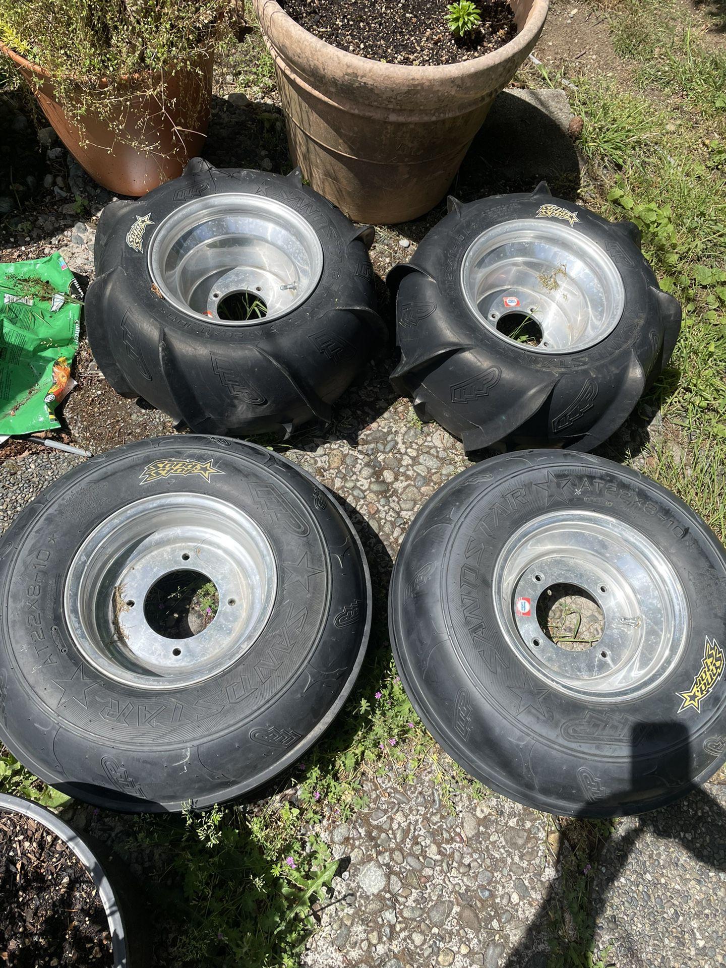 Photo ATV Sand Tires Wheels