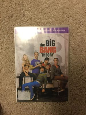 The Big Bang theory season 3 for Sale in Apex, NC