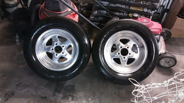 Mustang drag wheels ford foxbody sn95 for Sale in Crosby, TX - OfferUp