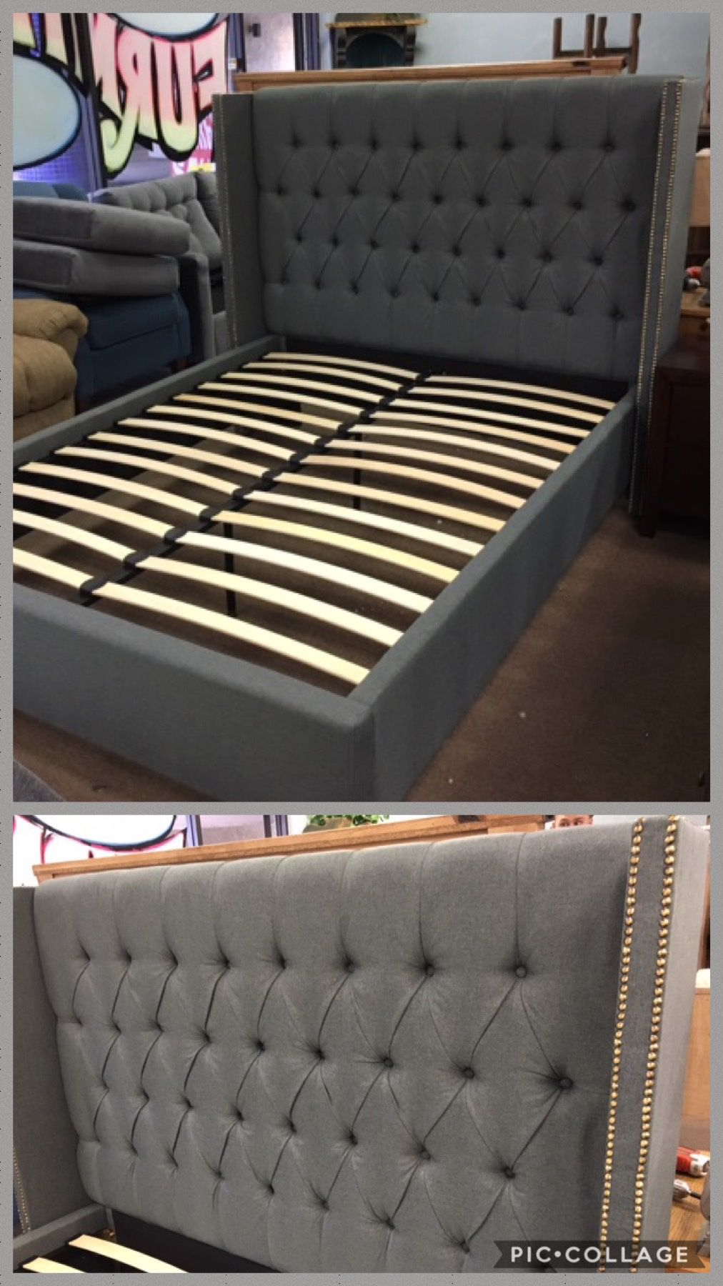 King bed frame