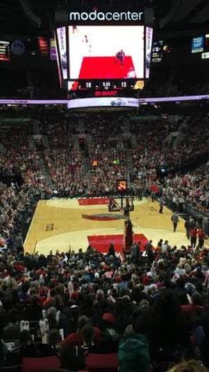 Blazers vs Lakers & Lebron! 2 tickets, lower 200 level for Sale in Portland, OR