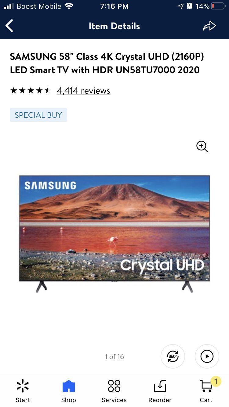 58 Inch Smart Tv